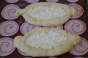 Хачапури с адыгейским сыром - фото шаг 15